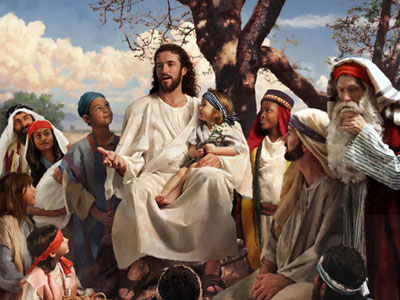 Resultado de imagen de Jesucristo predicando